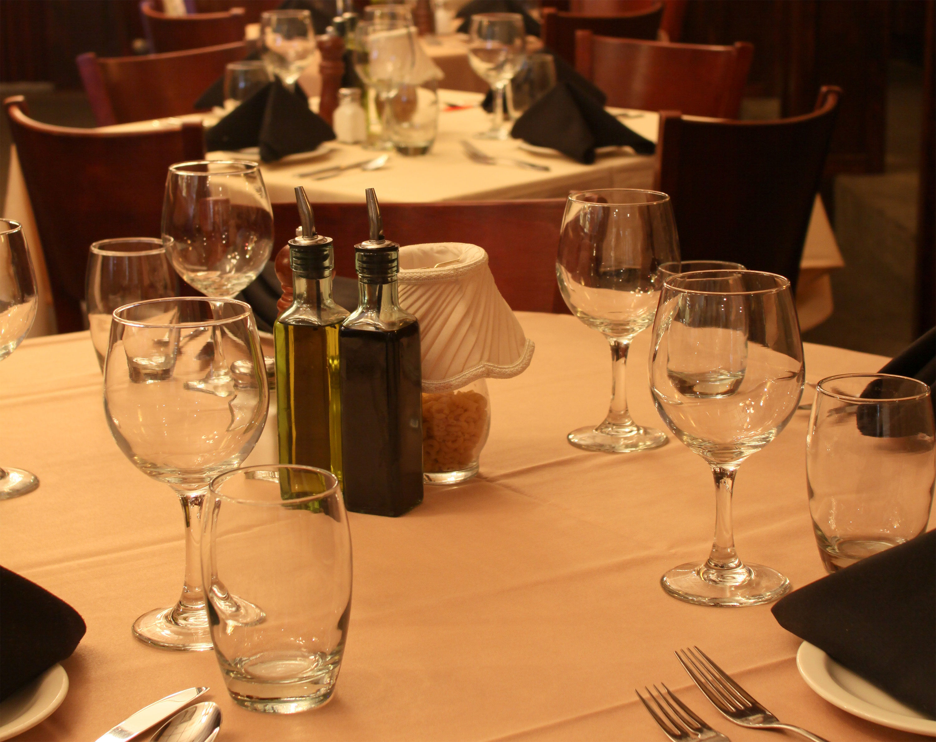 Dining Room at Pasta Brioni
